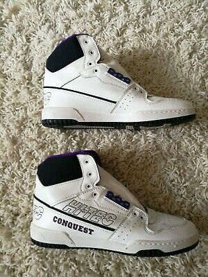 Retro Hi To Hi Tec Conquest Trainers Late 80s- Early 90s ORIGINAL (Without...