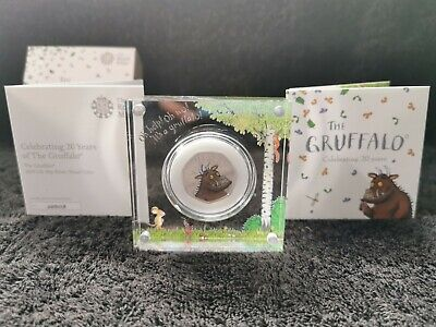 The Gruffalo Silver Proof 50p 2019 - No Longer Available at Royal Mint.
