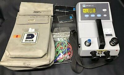GE Druck DPI603 300PSI Portable Pressure Calibrator 300 psi With Case