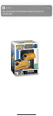 Funko Pop! Ad Icons Toucan Funko Shop Exclusive SDCC 2019 CONFIRMED