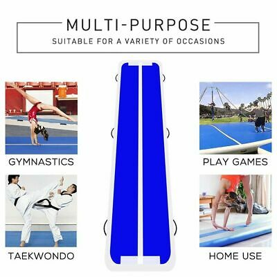Inflatable Gym Mat Air Tumbling Track Gymnastics Cheerleading Air Floor Track LB