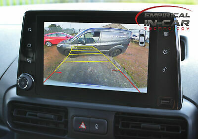 Citroen Berlingo Van - Reverse Reversing Camera Kit ( 2019 Onwards )