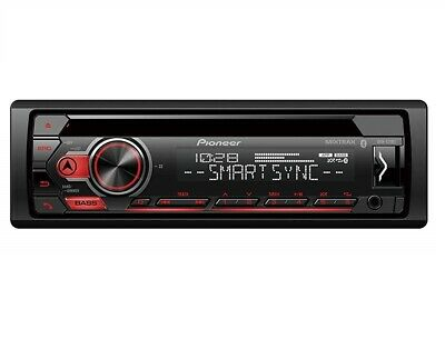 Pioneer DEH-S31BT CD MP3 USB Bluetooth Android Música Soporte Radio Estéreo