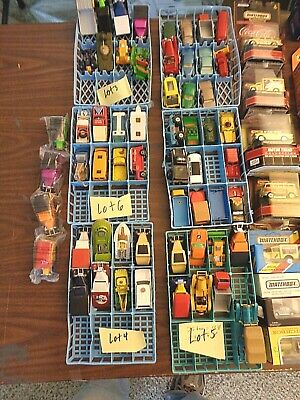 Lot of 185 Vintage & Contemporary Die Cast Vehicles Matchbox, Hot Wheels, Dinky,