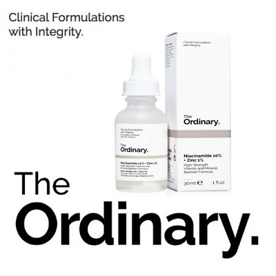 The Ordinary Niacinamide 10% + Zinc 1% 30 ml High Strength Vitamin Serum Mineral