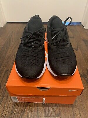 NIKE Odyssey React Flyknit 2 Black Running Shoes Men's Size 10.5 US AH1015-010