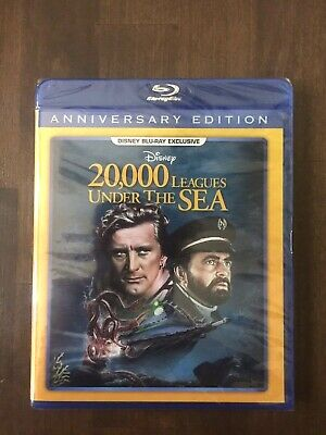 20,000 Leagues Under the Sea Disney  Blu-Ray Sealed FREE SHIPPING