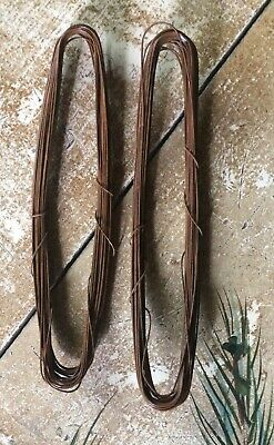 2 coils - - 20 gauge PRIMITIVE RUSTY TIN WIRE -- 60 Feet Total, Holiday Crafts