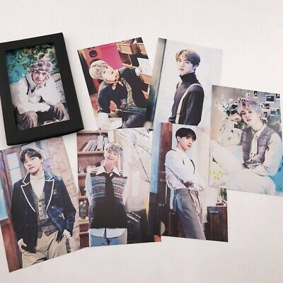 Kpop BTS 6th Anniversary FESTA Collective Poster PhotoCard 5th Muster Lomo Card