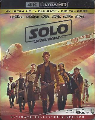 Solo A Star Wars Story (4K Ultra Hd/Bluray)(3 Disc Set)(Used)
