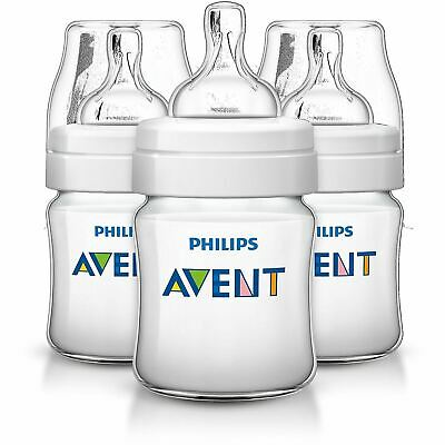 Philips AVENT Classic+ Feeding Bottle Baby Anti-Colic Pack Of 3 125ml SCF560/37