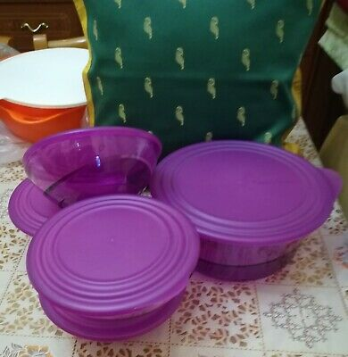 Ciotole multiple viola Tupperware