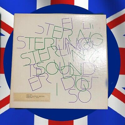 The Who Sterling Mastered Acetate Of Face Dances John Entwistle's Personal Copy
