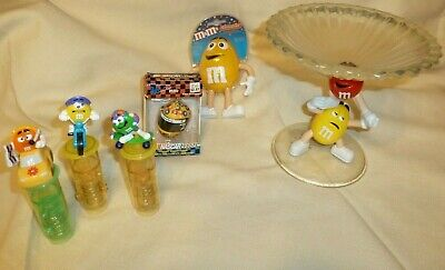 M&M Collectors Lot with Candy Dish
