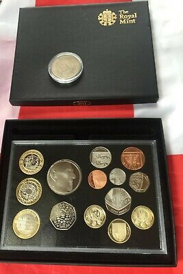 2011 ROYAL MINT PROOF SET UK - Scarce Low Mintage Coins.sealed/COA. &1972 Crown