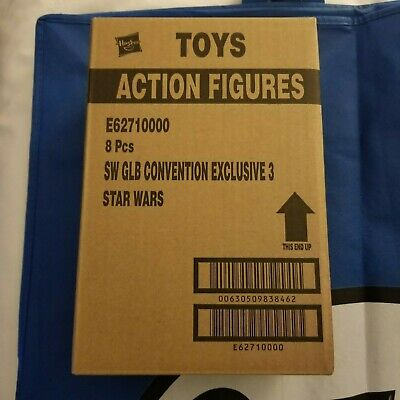 Sdcc 2019 Ee Star Wars Retro Prototype Darth Vader - Sealed Case Of 8!! *In Hand