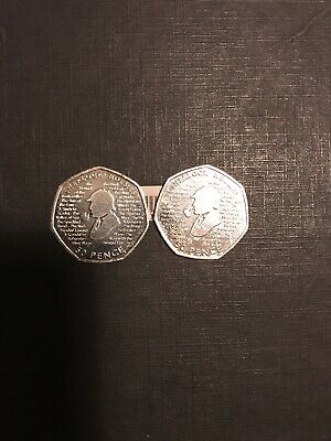 2x Sherlock Holmes 50p 2019 Brand New From Minted Bag UNCIRCULATED