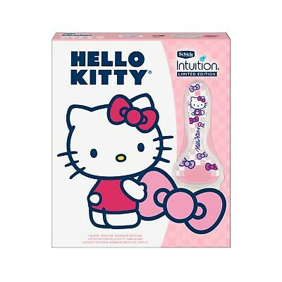 New - Hello Kitty Schick Intuition Advanced Moisture Shave Gift Set ( Red )