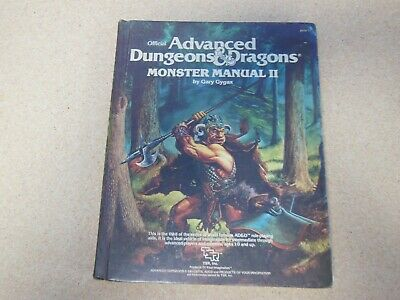 AD&D Advanced Dungeons & Dragons Monster Manual II 1983