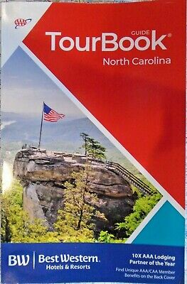 AAA NORTH CAROLINA NC TourBook Travel Guide Vacation Map Tour Book Road Trip '20