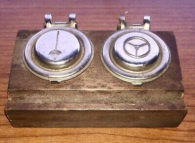 RARE Clockmaker & Watchmaker Vintage OIL WELL Two Cup Lubricating Tool LQQK