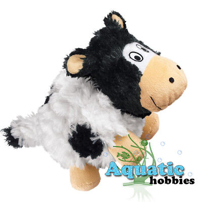 Kong BARNYARD CRUNCHEEZ COW Large Quieter Play Fun Toy for Dog Puppy