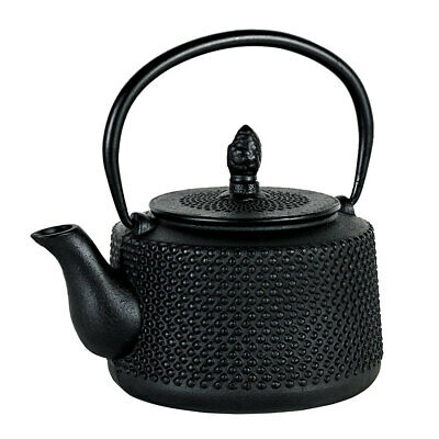 Avanti 750ml Emperor Hobnail Cast Iron Teapot w/Removable Infuser/Lid Tea Pot