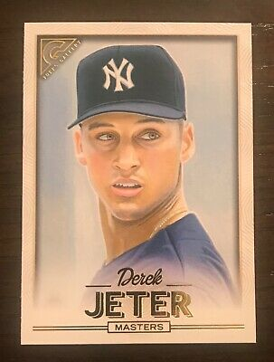 2018 Topps Gallery DEREK JETER Masters SP #175 New York Yankees
