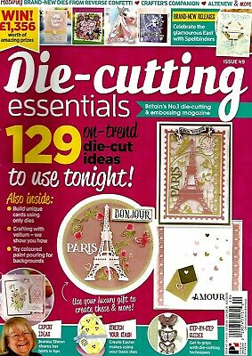 Die-Cutting Essentials  Magazine Issue 49. 2019. Free  Paris In Springtime Dies