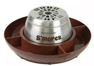 Nostalgia Electric Lazy Susan S'mores Maker