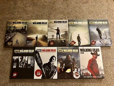 The Walking Dead DVDs! The Complete Series! All 9 Seasons! New!