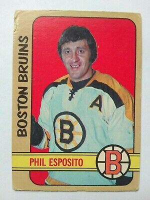 1972-73 OPC O-Pee-Chee #111 Phil Esposito Boston Bruins - VG