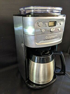 Cuisinart Burr Grind and Brew Thermal 12-Cup Automatic Coffee Maker DGB-900BC