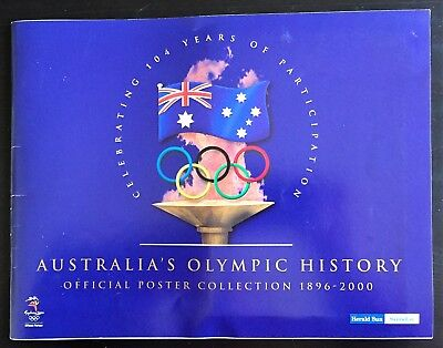 Herald Sun Australia's Olympic History Official Poster Collection 1896 – 2000