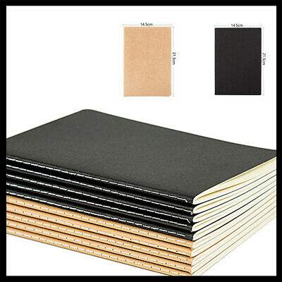 Great A5 Kraft Paper Notebooks Journal Diary Drawing Notepad Office Supplies