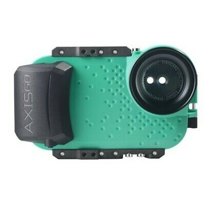 AxisGO Underwater Sport Housing for iPhone X and XS - Seafoam Green