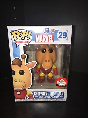 Funko Pop Ad Icons Geoffrey Iron Man 2018 Canadian Convention Exclusive FanExpo