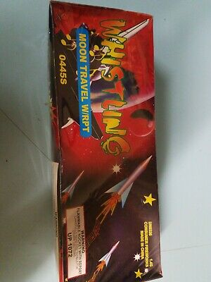 Whistling Moon Travelers With Report 144 count Fireworks Label New