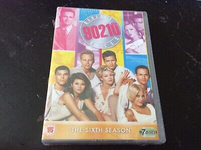 Beverly Hills 90210 Complete Series 6 DVD Boxset UK R2 new