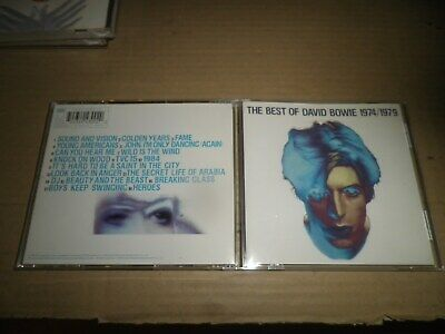David Bowie Best Of 1974-79 CD  Fame/Heroes/Golden Years/