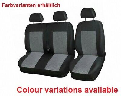 "CITROEN JUMPY UP TO 2007 2+1 FRONT UNIVERSAL SEAT COVERS /""TUNING EXTRA/"""