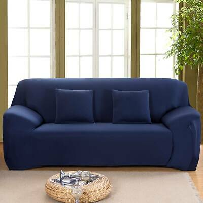 1/2/3/4 Seat Artiss High Stretch Sofa Cover Couch Lounge Protector Slipcovers WF