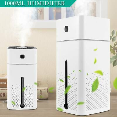 1L Air Humidifier Ultrasonic Cool Mist Steam Nebuliser Aroma Diffuser Purifier