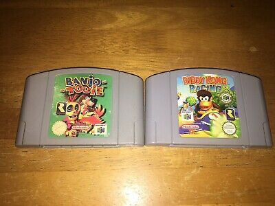 Banjo Tooie And Diddy Kong Racing Nintendo 64