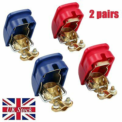 Single Set Connect 35218 NEW MULTIBUY 4x 12V Quick Release Battery Clamps