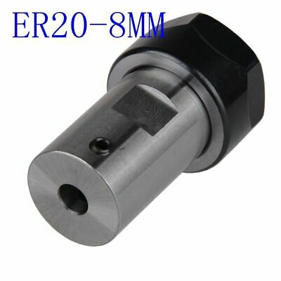 Replacement Tool Holder ER20A 8mm Extension Accessories Motor Shaft Rod