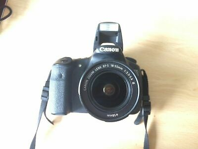 Canon EOS 60D SLR Camera and Lens