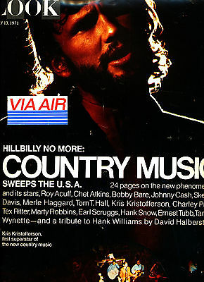 Country Music USA special = Look - July 13, 1971