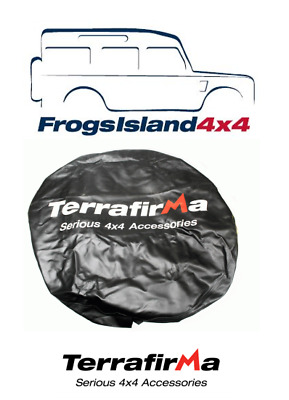 TFSWC01 TERRAFIRMA SPARE WHEEL COVER 235 x 85 x 16 FOR LAND ROVER DEFENDER