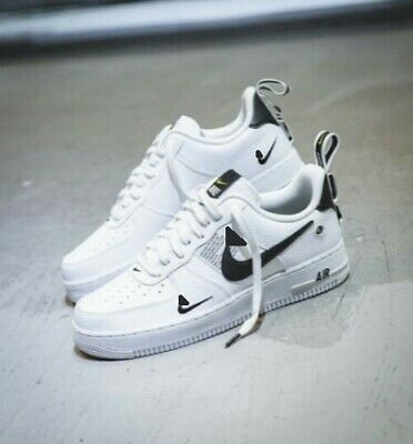 2019 Neu Air Force 1 One Utility Low White 07 Lv8 All Sizes